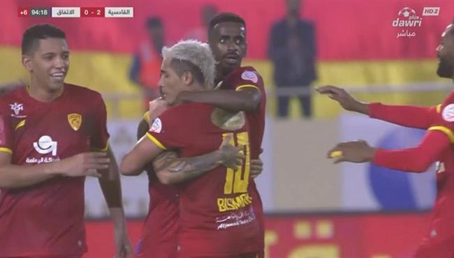 اهداف مباراة القادسية والاتفاق (2-0) الدوري السعودي