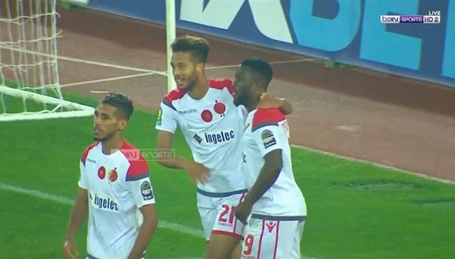 هدف الوداد البيضاوي الثالث في مرمي اسيك ميموزا بدوري ابطال افريقيا