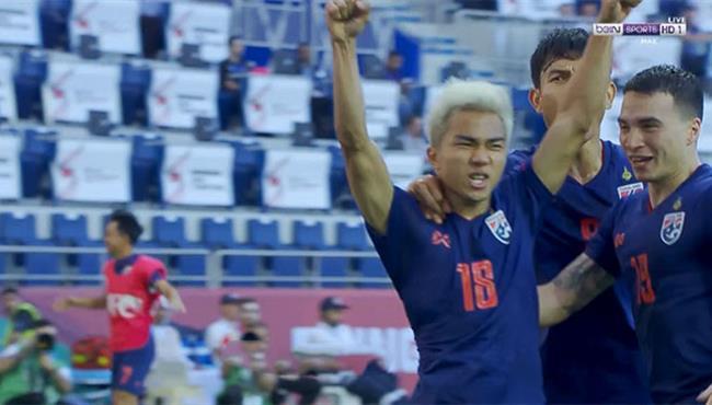 هدف تايلاند الاول في مرمي البحرين (1-0) كأس اسيا