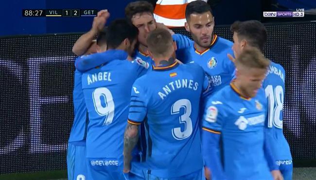 اهداف مباراة خيتافي وفياريال (2-1) الدوري الاسباني