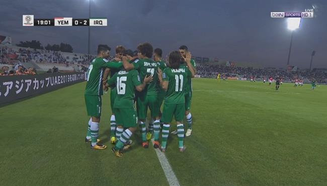 اهداف مباراة العراق واليمن (3-0) تعليق حفيظ دراجي