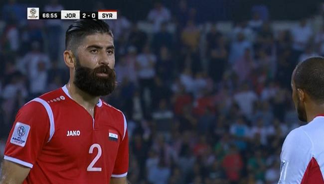 ملخص لمسات احمد الصالح فى مباراة سوريا والاردن بكأس اسيا