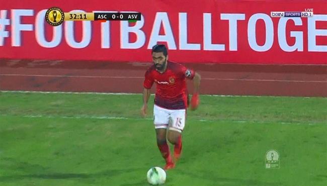 ملخص لمسات حسين الشحات فى اول مباراة له مع الاهلي بتعليق عصام الشوالي