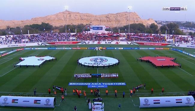 ملخص مباراة الاردن وسوريا (2-0) تعليق رؤوف خليف