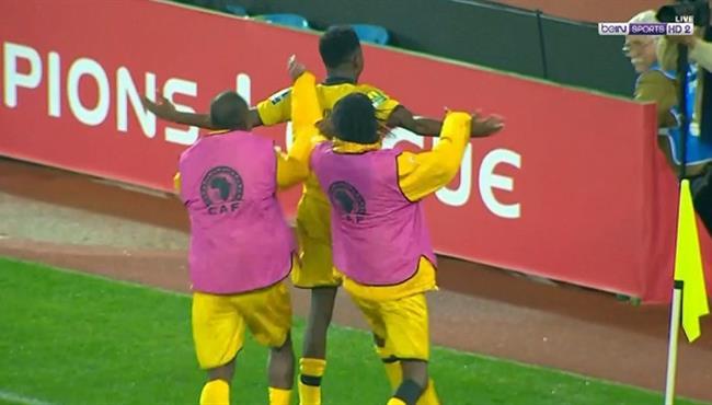 هدف تعادل اسيك ميموزا العالمي مع الوداد البيضاوي (1-1) دوري ابطال افريقيا
