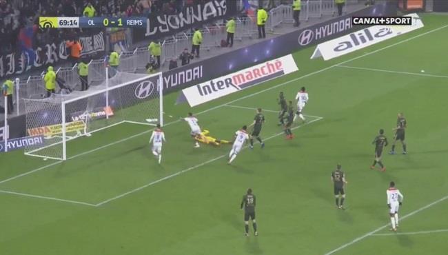 اهداف ليون وستاد ريمس (1-1) الدوري الفرنسي
