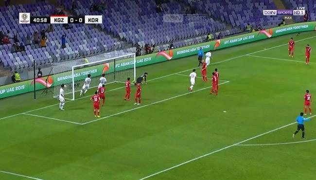 هدف فوز كوريا الجنوبية علي قيرغيزستان (1-0) كأس اسيا