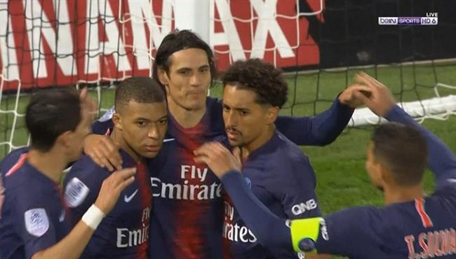 اهداف مباراة باريس سان جيرمان واميان (3-0) الدوري الفرنسي