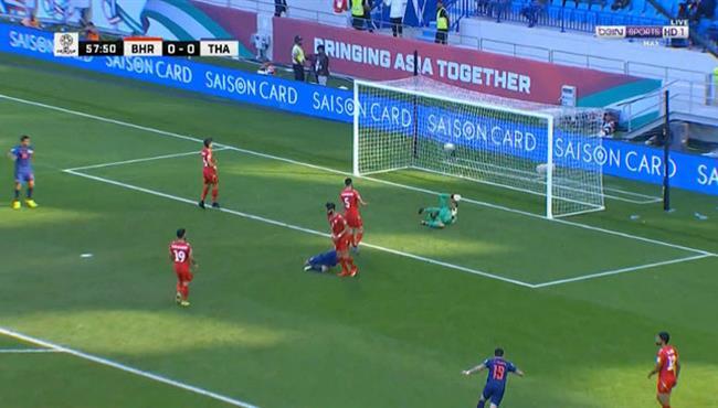 هدف فوز تايلاند علي البحرين (1-0) كأس اسيا