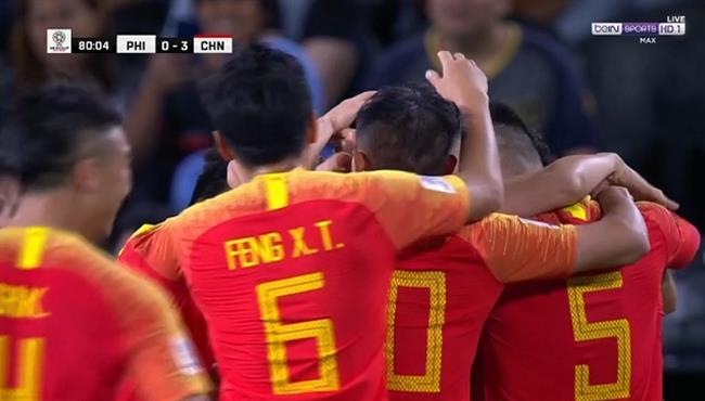 اهداف مباراة الصين والفلبين (3-0) كأس اسيا