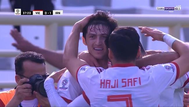 اهداف مباراة ايران وفيتنام (2-0) كأس اسيا