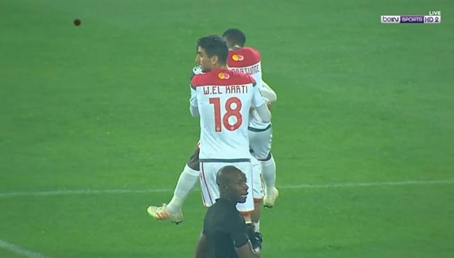هدف الوداد البيضاوي الثاني في مرمي اسيك ميموزا بدوري ابطال افريقيا