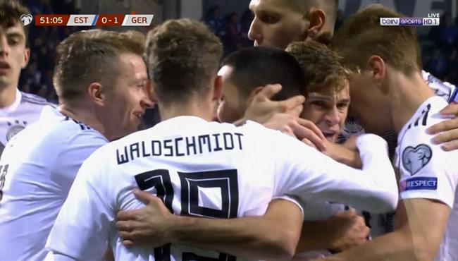 اهداف مباراة المانيا واستونيا (3-0) تصفيات امم اوروبا
