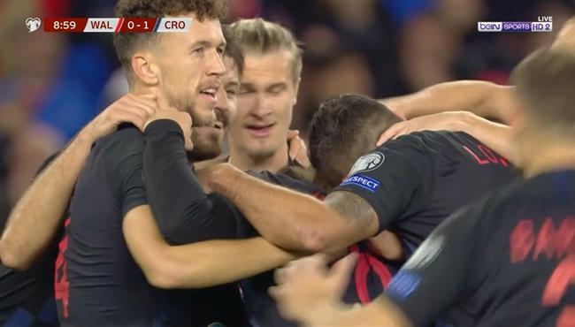 اهداف مباراة كرواتيا وويلز (1-1) تصفيات امم اوروبا