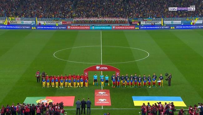 ملخص مباراة البرتغال واوكرانيا (1-2) تصفيات امم اوروبا
