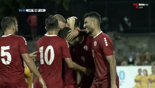 اهداف مباراة لبنان وسريلانكا في تصفيات اسيا لكاس العالم .. مباشر