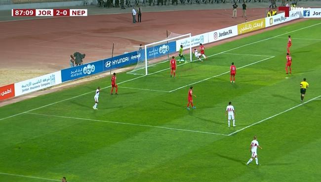 اهداف مباراة الاردن ونيبال (3-0) تصفيات اسيا لكاس العالم