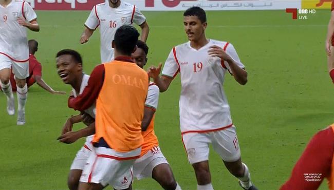 هدف تعادل عمان مع قطر (1-1) تصفيات اسيا لكاس العالم