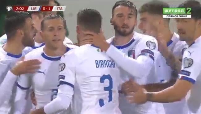 اهداف مباراة ايطاليا وليشتنشتاين (5-0) تصفيات امم اوروبا
