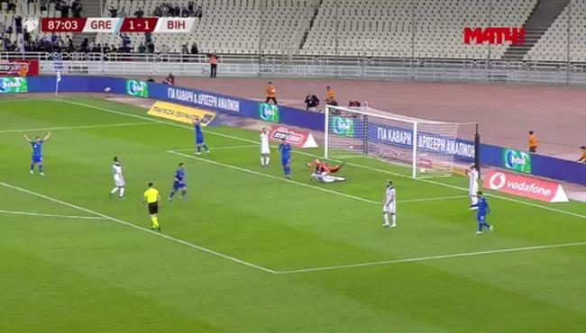 اهداف مباراة اليونان والبوسنه والهرسك (2-1) تصفيات امم اوروبا