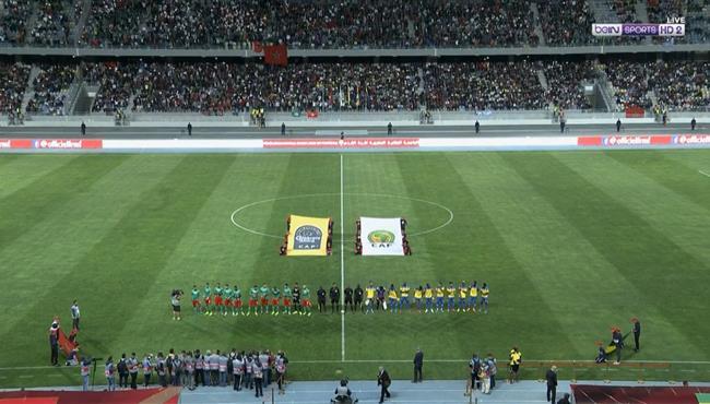 ملخص مباراة المغرب والجابون (2-3) مباراة ودية