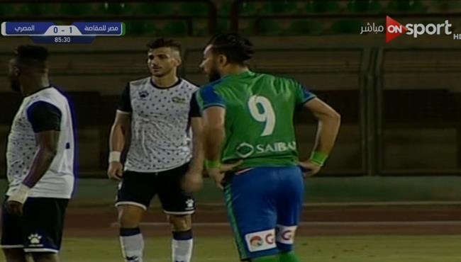 هدف فوز مصر المقاصة علي المصري في الدقائق الاخيرة (1-0) ورد فعل ميدو