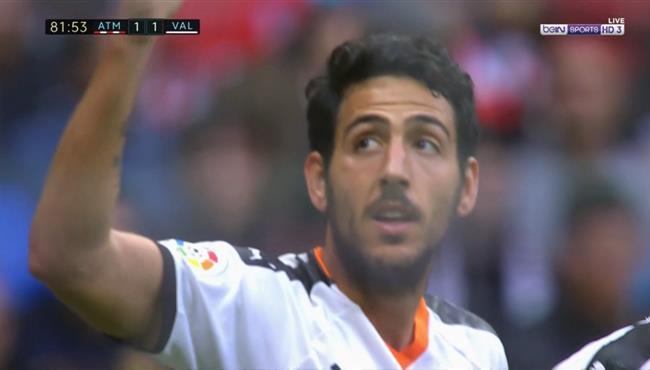 هدف دانيال باريخو الرائع في مرمي اتلتيكو مدريد بالدوري الاسباني
