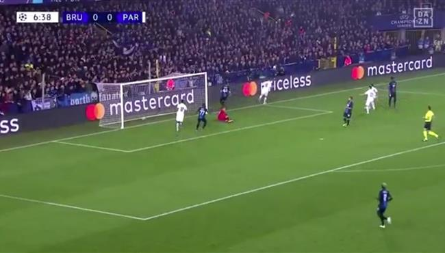 اهداف مباراة باريس سان جيرمان وكلوب بروج (5-0) دوري ابطال اوروبا