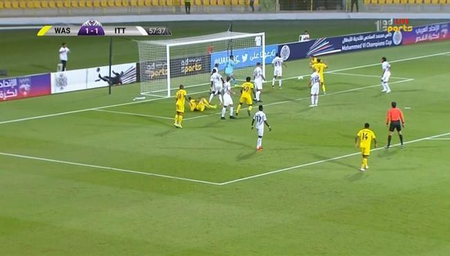 القائم يحرم لاعب الوصل من تسجيل هدف في مرمي الاتحاد بالبطولة العربية