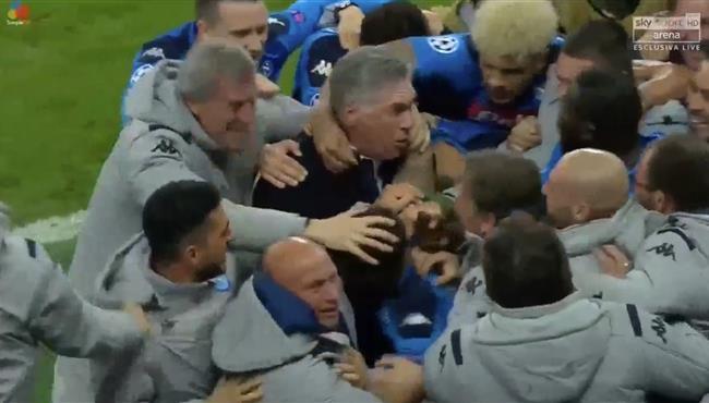 اهداف مباراة نابولي وسالزبورج (3-2) دوري ابطال اوروبا
