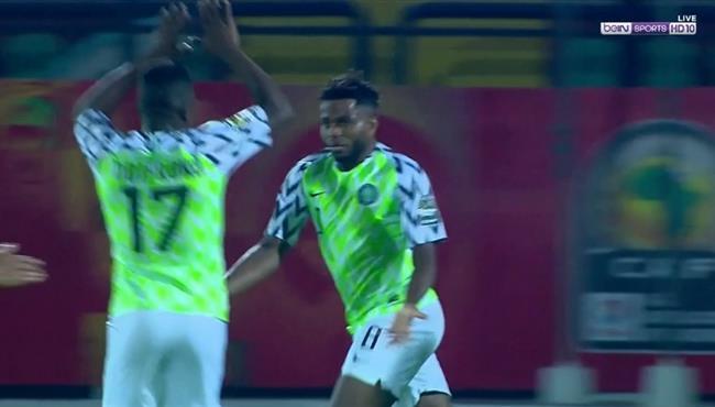 هدف تعادل نيجيريا مع زامبيا (1-1) كأس افريقيا تحت 23 عام