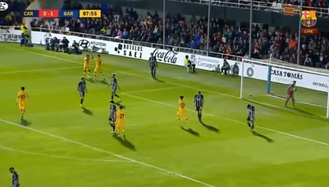 اهداف مباراة برشلونة وقرطاجنة (2-0) مباراة ودية