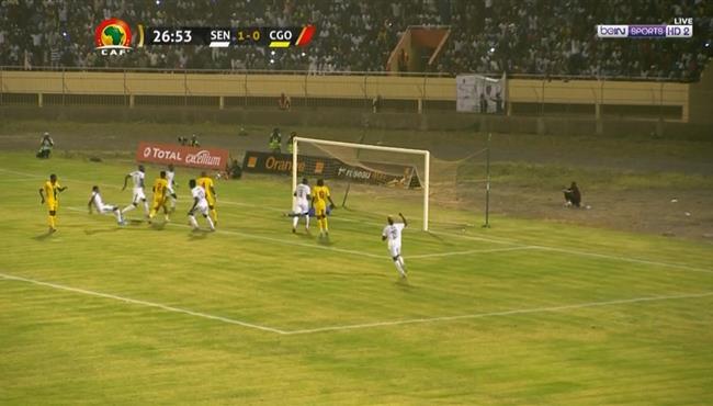 اهداف مباراة السنغال وجمهورية الكونغو (2-0) تصفيات كاس امم افريقيا