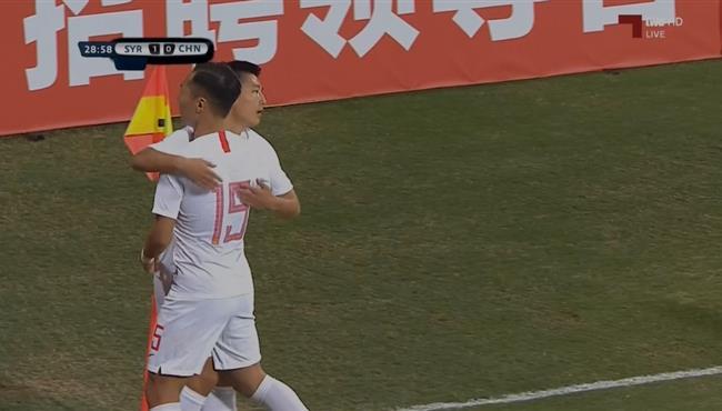 هدف تعادل الصين مع سوريا (1-1) تصفيات اسيا لكأس العالم