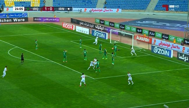 هدف تعادل ايران مع العراق (1-1) تصفيات اسيا لكاس العالم