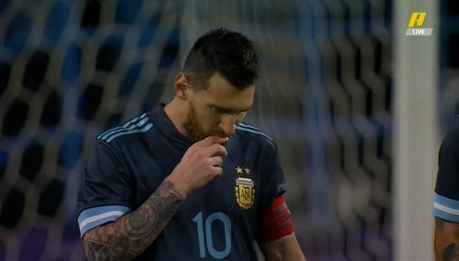 هدف ميسي في مرمي البرازيل 1 0 مباراة ودية