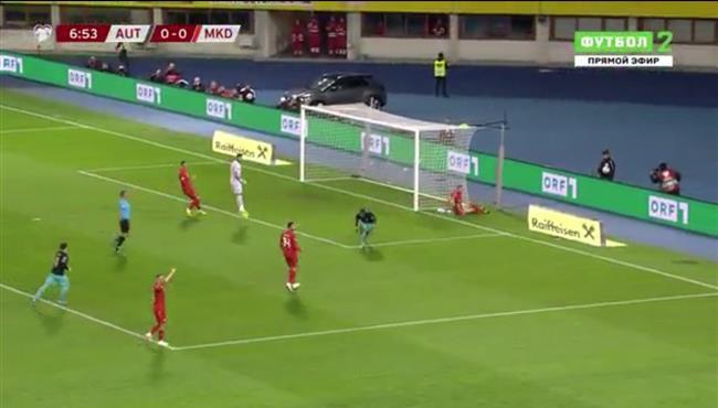 اهداف مباراة النمسا ومقدونيا (2-1) تصفيات امم اوروبا