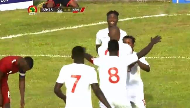 اهداف مباراة غينيا وناميبيا (2-0) تصفيات امم افريقيا
