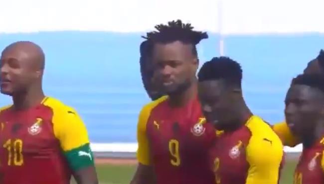 هدف فوز غانا علي ساو تومي (1-0) تصفيات امم افريقيا