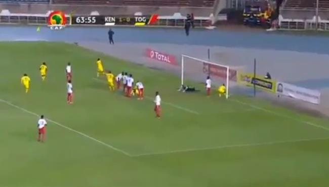 اهداف مباراة توجو وكينيا (1-1) تصفيات امم افريقيا