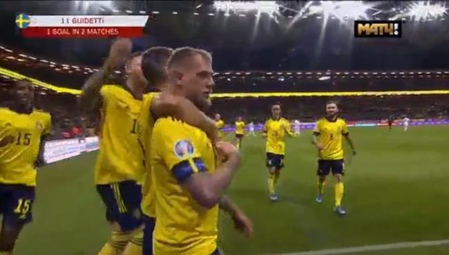 اهداف مباراة السويد وجزر فاروه (3-0) تصفيات امم اوروبا