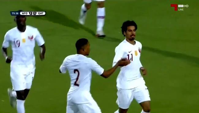 هدف فوز قطر على افغانستان (1-0) تصفيات اسيا لكاس العالم