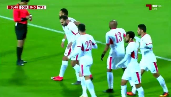 اهداف مباراة الاردن والصين تايبيه (5-0) تصفيات اسيا لكأس العالم