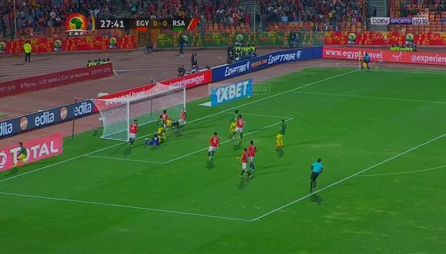 جنوب افريقيا كادت ان تسجل هدف امام مصر الاوليمبي في كاس امم افريقيا تحت 23