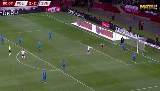 اهداف مباراة بولندا وسلوفينيا (3-2) تصفيات امم اوروبا