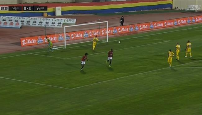 اهداف مباراة الرائد والحزم (3-2) الدوري السعودي