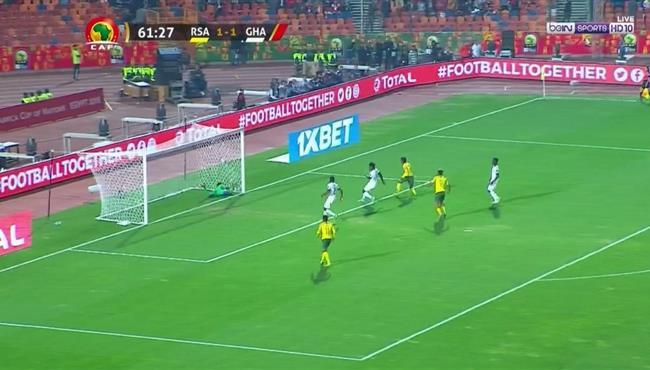 هدف جنوب افريقيا الثاني الرائع في مرمي غانا كاس امم افريقيا تحت 23 عام