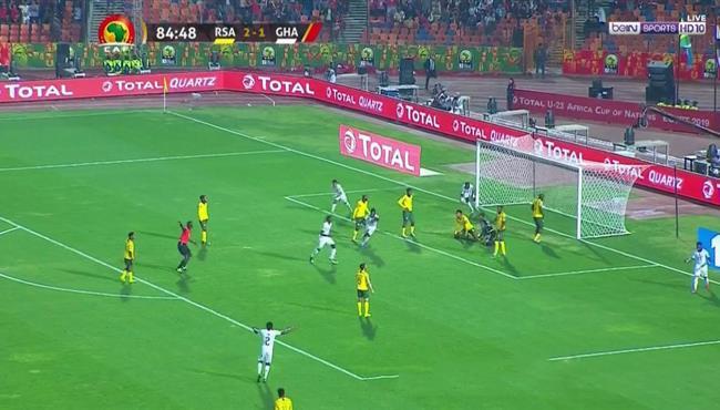 هدف تعادل غانا القاتل مع جنوب افريقيا (2-2) كاس امم افريقيا تحت 23 عام