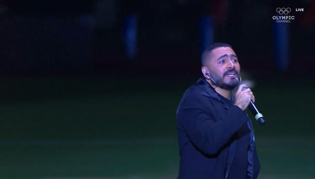 اغنية حفل نهائي كأس امم افريقيا تحت 23 عام تامر حسني