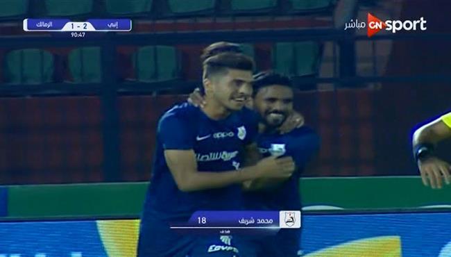 اهداف مباراة الزمالك وانبي 1 2 الدوري المصري بطولات